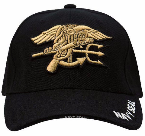 DISCONTINUED - Rothco Navy Seal Deluxe Low Profile Insignia Cap