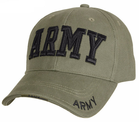 Rothco Deluxe Army Embroidered Low Profile Insignia Cap