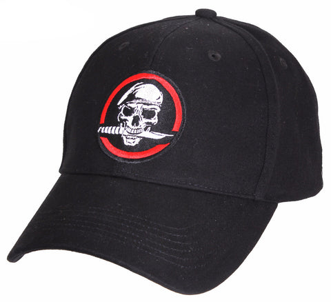 Rothco Skull/Knife Deluxe Low Profile Cap