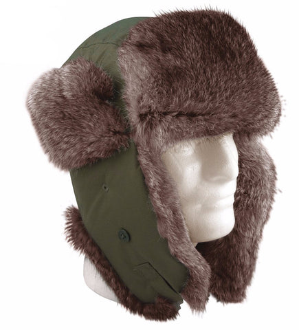 Rothco Fur Flyer's Hat - Mad City Outdoor Gear