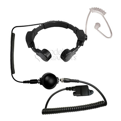 Code Red Headsets Assault-MC1 Tactical Throat Mic for Harris/Macom Radios - Mad City Outdoor Gear