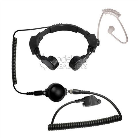 Code Red Headsets Assault-MC3 Tactical Throat Mic for Harris/Macom Radios - Mad City Outdoor Gear