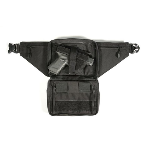 BlackHawk Nylon Concealed Weapon Fanny Pack Holster - Ambidextrous