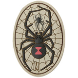 Maxpedition Black Widow Morale Patch
