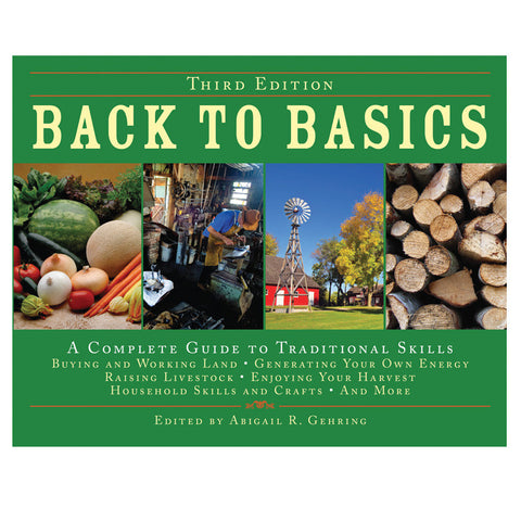 Back To Basics: A Complete Guide To Traditional Skills - Mad City Outdoor Gear
