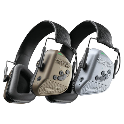 Bushnell Vanquish Pro Elite Electronic Hearing Ear Protection by Champion Range and Target