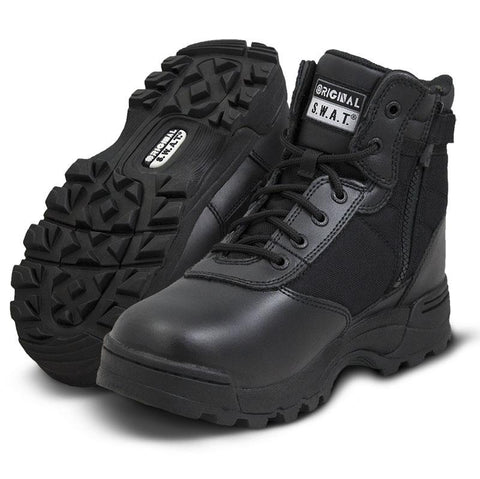 Original SWAT Classic 6 Waterproof Side Zip Safety Boots