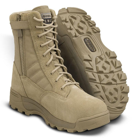 Original SWAT Classic 9 Side Zip Safety Boots