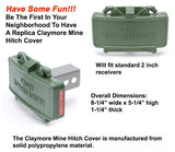 GG&G Claymore Mine Trailer Hitch Cover