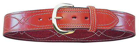 Bianchi Reversible Fancy Stitched Belt, 1.75""