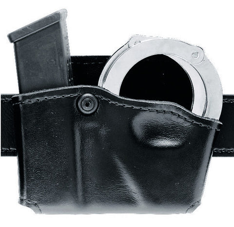Safariland Model 573 Open Top Magazine and HandCuff Pouch - Hardshell STX