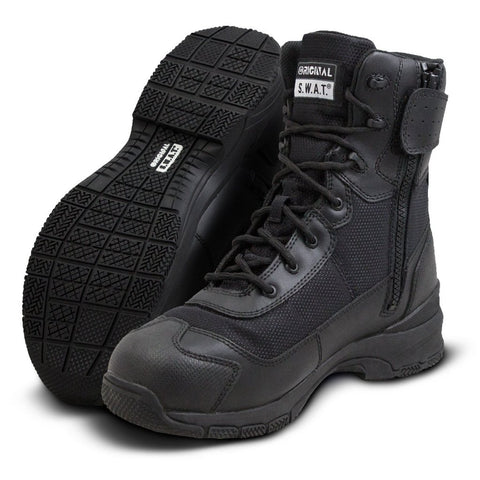 "Original SWAT H.A.W.K. 9"" Waterproof Side-Zip Boots"