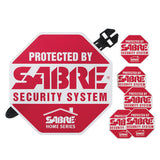 Sabre Red Yard Sign & Security Decals - Mad City Outdoor Gear