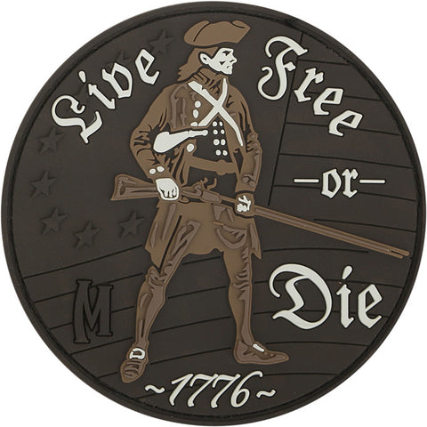 Maxpedition Live Free or Die Patch - Mad City Outdoor Gear