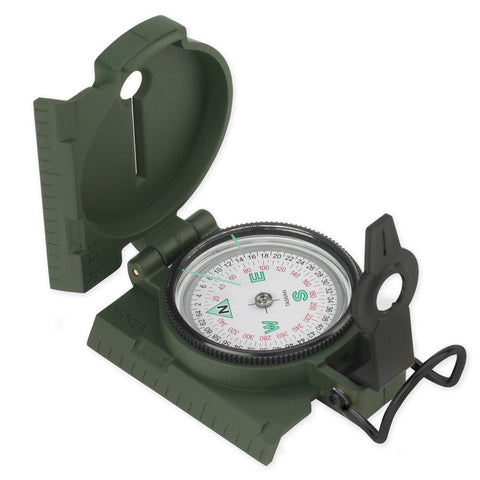 NDuR  Lensatic Compass w/Plastic case - Mad City Outdoor Gear
