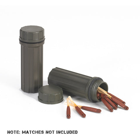 NDūR  Waterproof Match Holder (2 PACK) - Mad City Outdoor Gear
