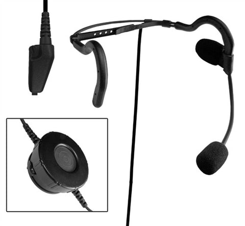 Code Red Headsets Negotiator-K2 Tactical Headset for Kenwood multiple-pin radios - Mad City Outdoor Gear