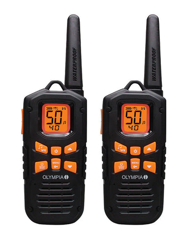 Olympia R500 42-mile Two-Way Radio - Mad City Outdoor Gear