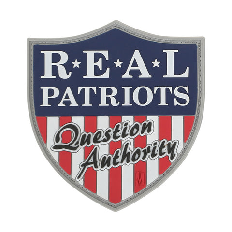 Maxpedition Real Patriots Patch - Mad City Outdoor Gear