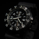 Smith & Wesson Tritium Watch H3 Nylon & Rubber