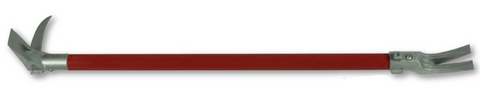 "Zak Tool 42"" Halligan Tool - Red/Silver  12 lbs. - Mad City Outdoor Gear"