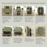 "Maxpedition 5"" TacTie Pack of 4"