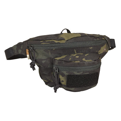 Tasmanian Tiger Black Multicam Hip Bag