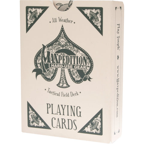 Maxpedition Tactical Field Deck All Weather Playing Cards - Mad City Outdoor Gear