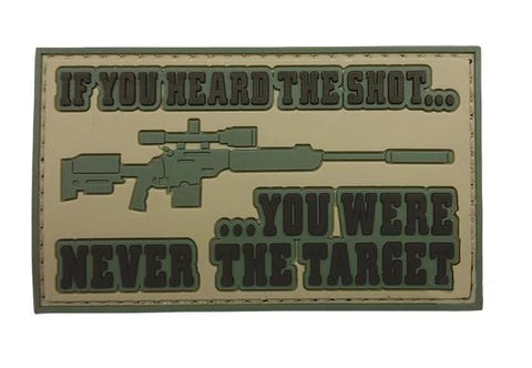 Tru-Spec Heard The Shot Morale Patch