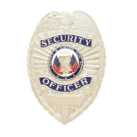 Smith & Warren Security Enforcement, Stock Badge, 2.3' X 3.2'