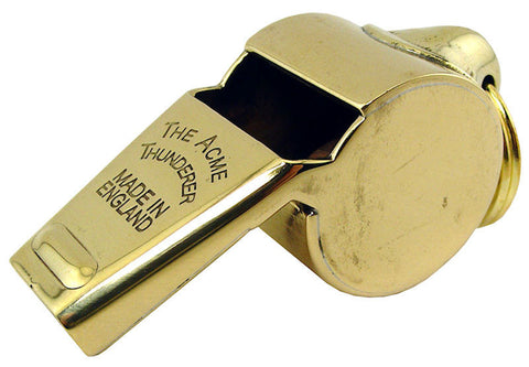 Acme Whistle 60.5 Polished Brass - Mad City Outdoor Gear