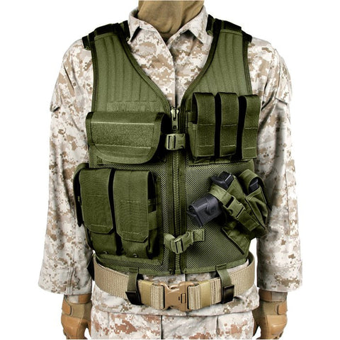 BlackHawk Omega Elite Cross Draw / Pistol Mag Vest - Mad City Outdoor Gear