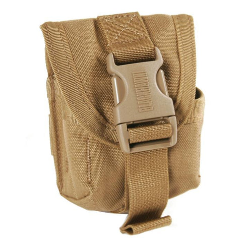 BlackHawk Single Frag Grenade Pouch - MOLLE - Mad City Outdoor Gear