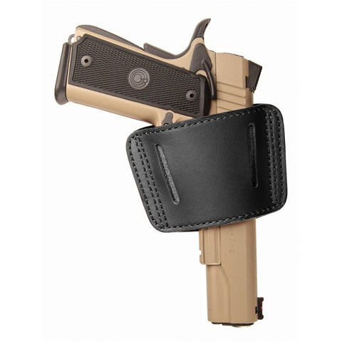 BlackHawk Sportster Leather Belt Slide Holster - Ambidextrous