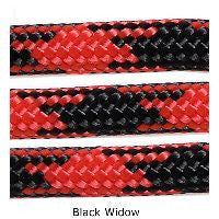 550 Paracord Type III - Black Widow - Mad City Outdoor Gear