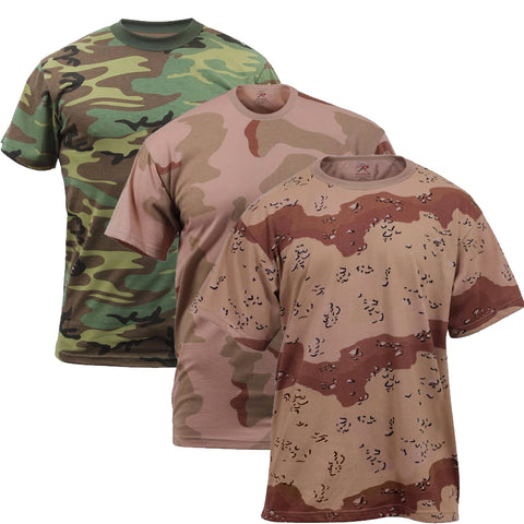 Rothco Camouflage T-Shirt