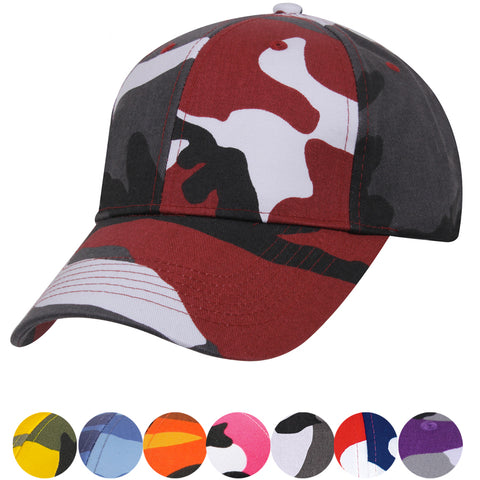 Rothco Color Camouflage Low Profile Baseball Cap