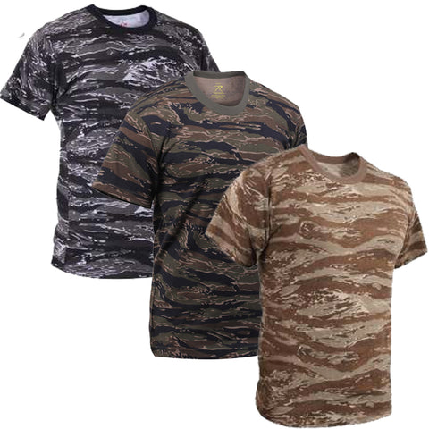 Rothco Tiger Stripe Camouflage T-Shirts