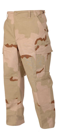 BDU Desert 3-Color Pants (Nylon/Cotton)