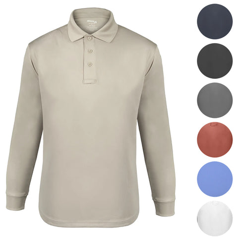 Elbeco UFX Tactical Long Sleeve Polo - Mens