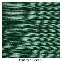 550 Paracord Type III - Emerald Green - Mad City Outdoor Gear