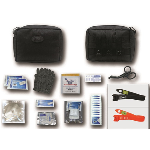 EMI - Emergency Medical  Tacmed Gunshot Kit with S.T.A.T. Tourniquet