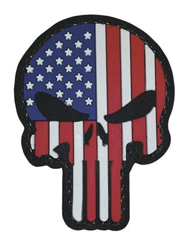 Tru-Spec Punisher Patriotic Morale Patch