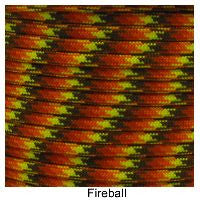 550 Paracord Type III - Fireball - Mad City Outdoor Gear