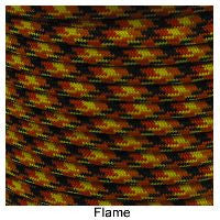 550 Paracord Type III - Flame - Mad City Outdoor Gear