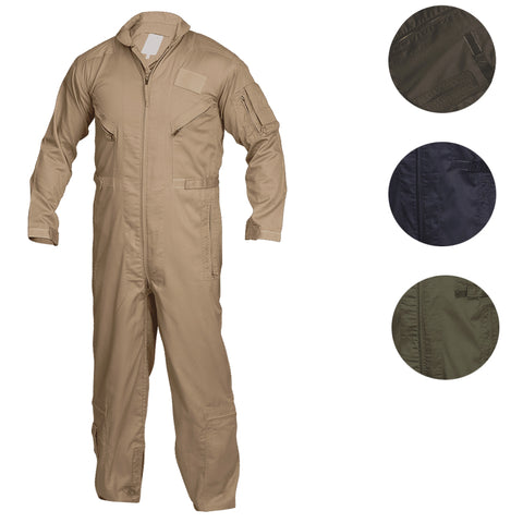 Tru-Spec 27-P Khaki Flight Suit - Mad City Outdoor Gear
