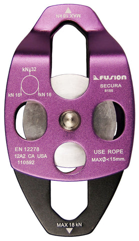 Fusion Secura Pulley - Mad City Outdoor Gear