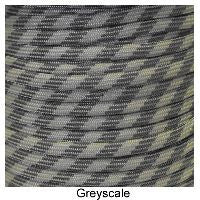 550 Paracord Type III - Greyscale - Mad City Outdoor Gear