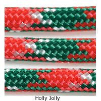 550 Paracord Type III - Holly Jolly - Mad City Outdoor Gear