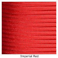 550 Paracord Type III - Imperial Red - Mad City Outdoor Gear
